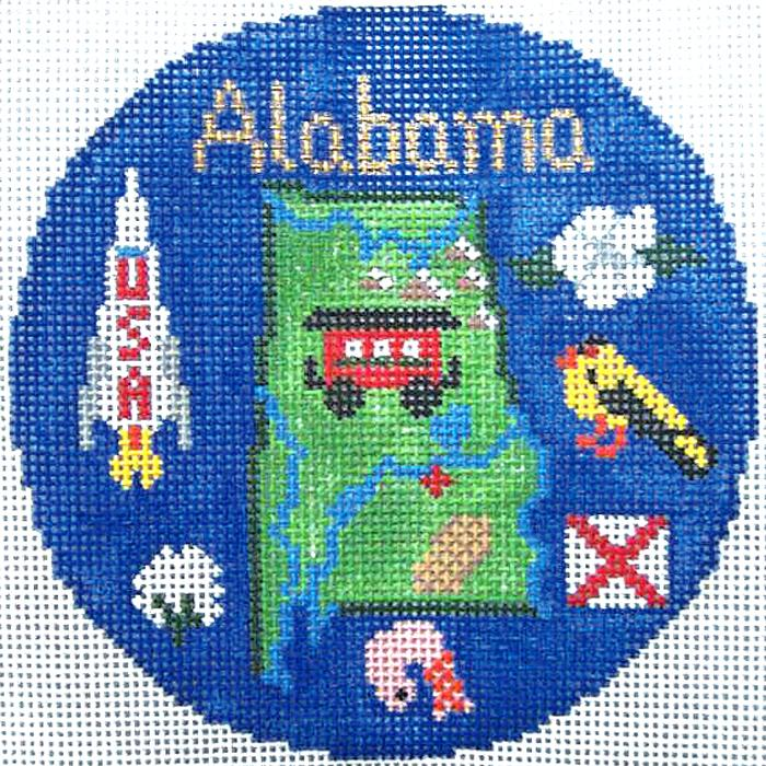 Alabama Ornament