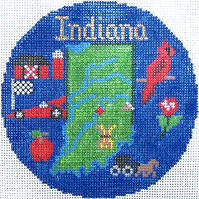 Indiana Ornament