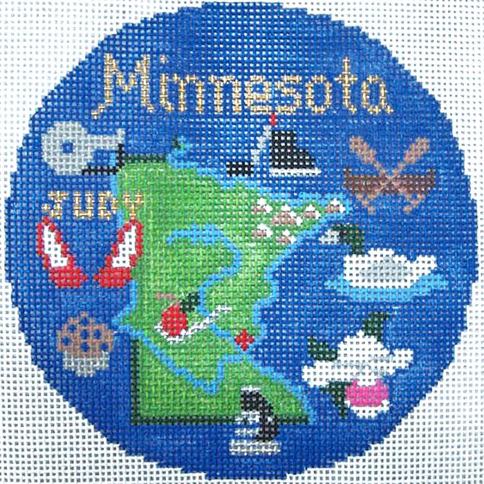 Minnesota Ornament