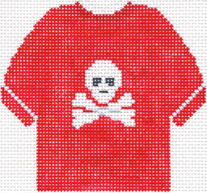 Jolly Roger Red T-Shirt Ornament