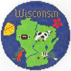 Wisconsin Ornament