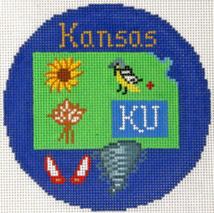 Kansas Ornament
