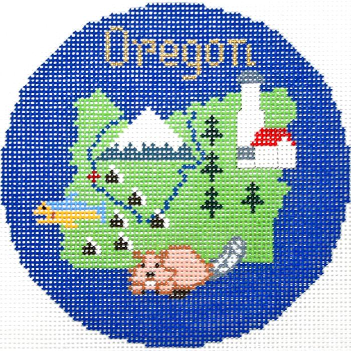 Oregon Ornament