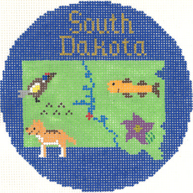 South Dakota Ornament