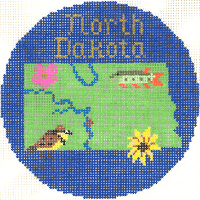 North Dakota Ornament