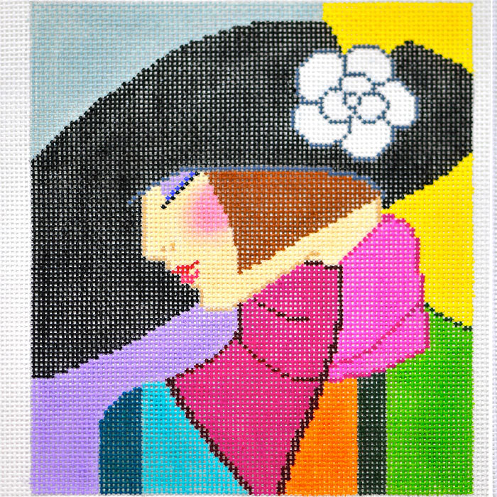 Lady With Black Hat
