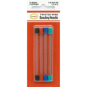 colonial twisted wire beading needles