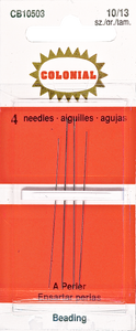 colonial bodkin/rafia needle set
