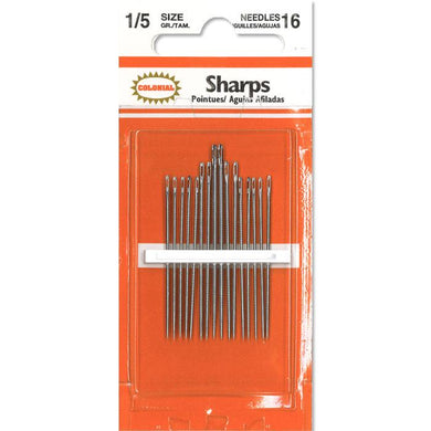 colonial sharps needles