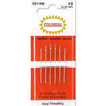 colonial easy threading sharp needles