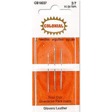 colonial leather needles