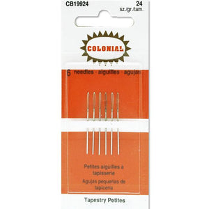 colonial tapestry petites needles