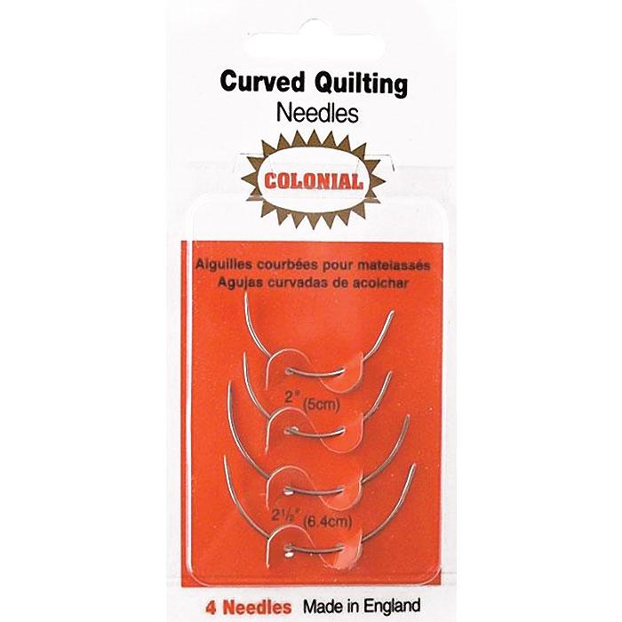 colonial curved quilting needles