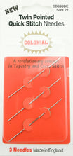 colonial double pointed tapestry needles