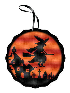 Witch Spooky Ornament