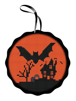 Bat Spooky Ornament