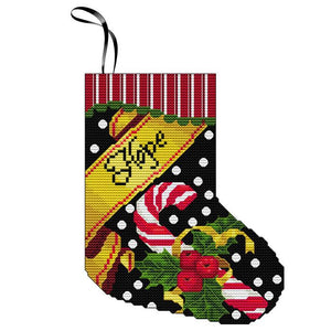 Hope Mini Stocking Ornament
