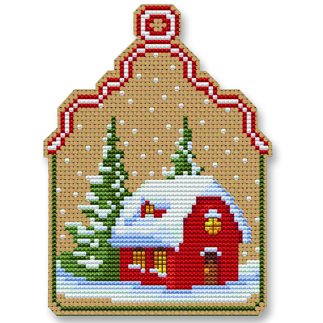 Christmas House Ornament