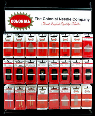 Colonial Needle Display Rack