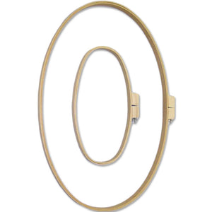 Straight Edge Wooden Hoop