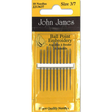 jj embroidery ball point