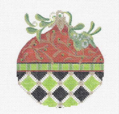 Peridot Kissing Ball Stitch Guide