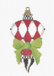 Red Carnelian Harlequin Stitch Guide