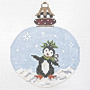 Dancing Penguin Ornament