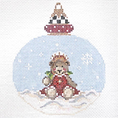 First Teddy Princess Ornament