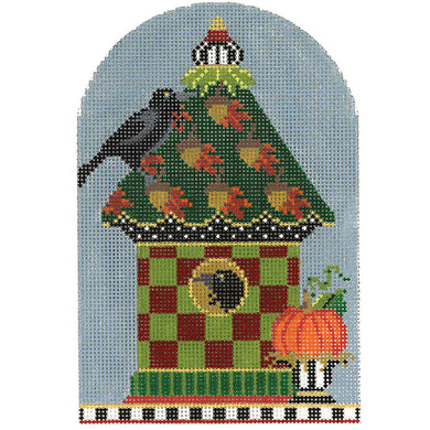 Acorn Pumpkin Crow House