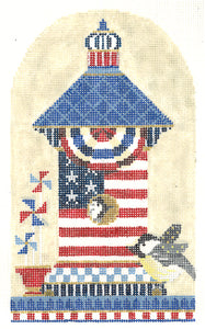 Chickadee Patriotic House