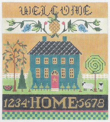 Welcome Sampler Stitch Guide