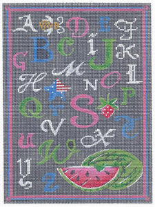 ABC Summer Chalk Sampler