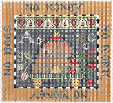 Bees Proverb Sampler Thread Kit