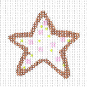 Pink Sprinkle Star Cookie