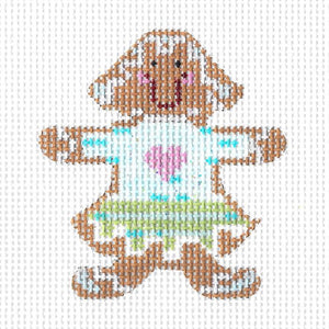Gingerbread Girl Cookie