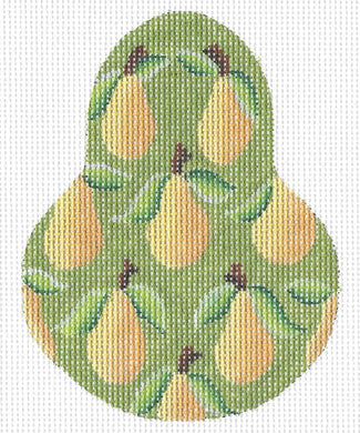 Yellow Bartlett Pear Stitch Guide