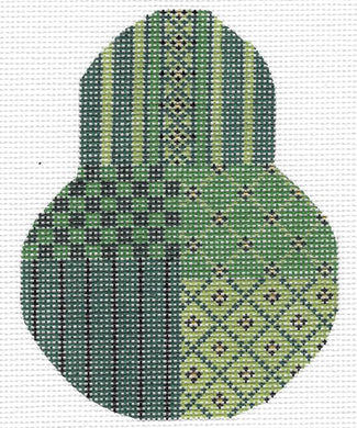 Christmas Green Sampler Pear