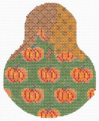 Pumpkin Patterned Pear Stitch Guide