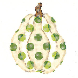 Gourd with Eye of Newt Polka Dots