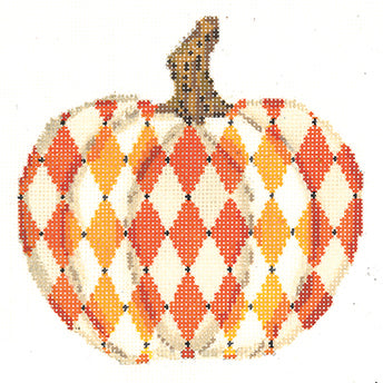 Hallowed Harlequin Pumpkin