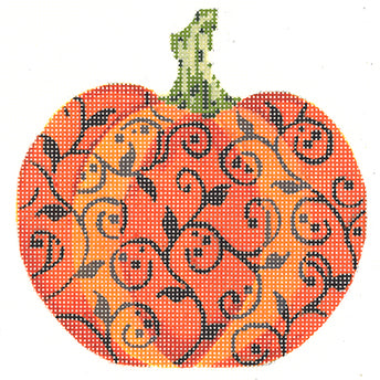 Halloween Scroll Pumpkin