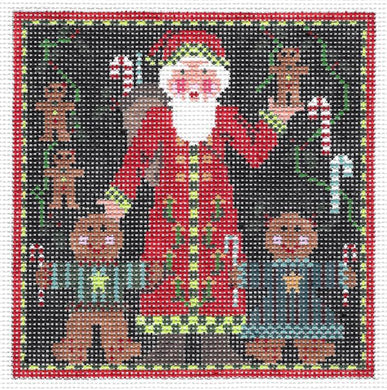 Santa & the Gingerkids Square