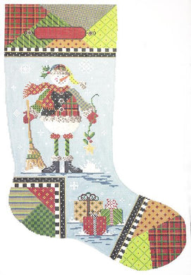 Patchwork Paul Stocking