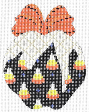 Hallowed Candy Corn Apple