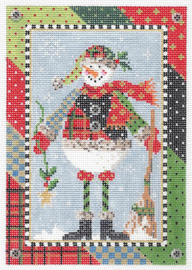 Patchwork Paul Snowman