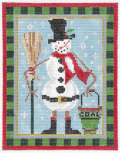 Chimney Sweep Snowman