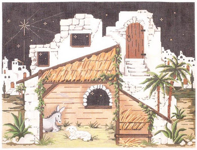 Creche - Nativity Backdrop