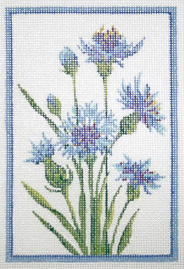 Germany Cornflower Stitch Guide