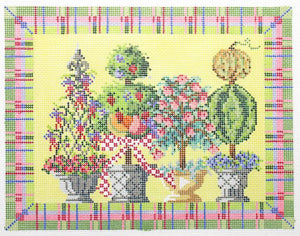 Summertime Topiaries Stitch Guide
